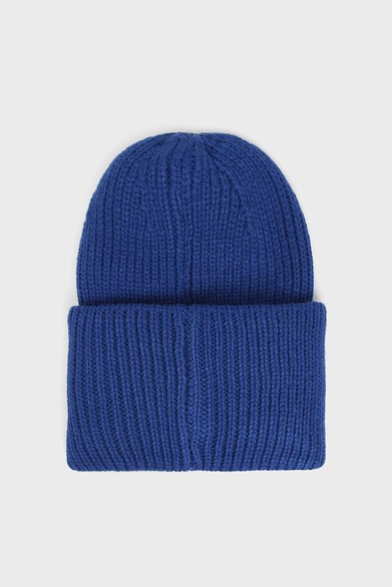 Женская синяя шапка AMIRA