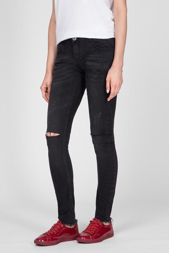 Женские темно-серые джинсы BLACK PARIS HOODLUMS