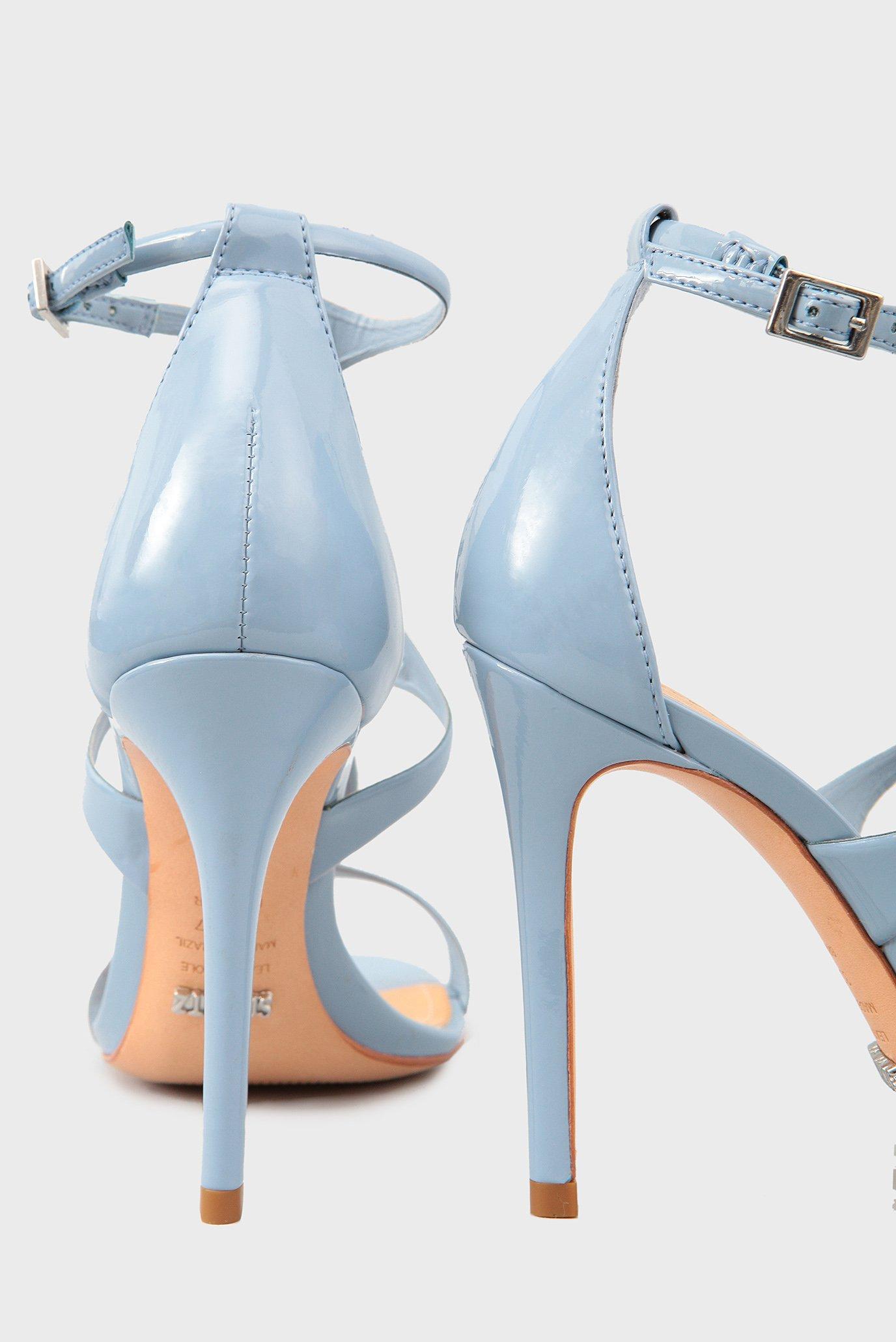 Купить Женские голубые босоножки Schutz  Schutz  S2024000260023 – Киев, Украина. Цены в интернет магазине MD Fashion