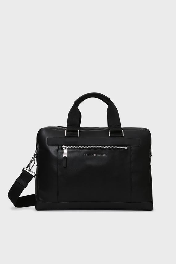 Мужская черная сумка для ноутбука TH METRO