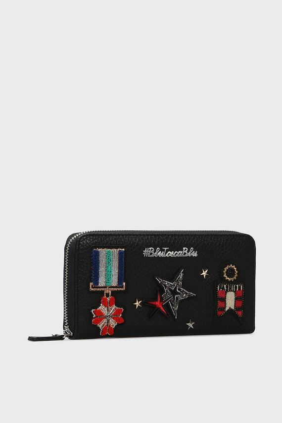 Женский черный кошелек ARMY