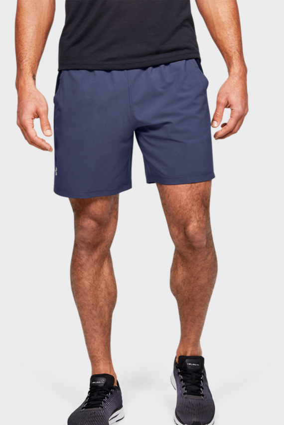 Мужские синие шорты UA LAUNCH SW 7'