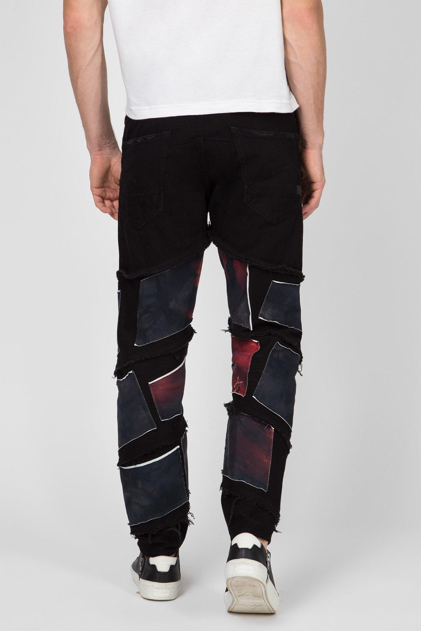 Купить Мужские черные джинсы Spiraq RFTP patches eclips 3D G-Star RAW G-Star RAW D12134,A926 – Киев, Украина. Цены в интернет магазине MD Fashion