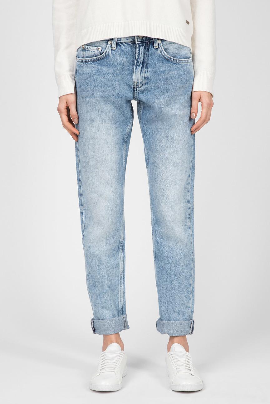 Женские голубые джинсы Mable