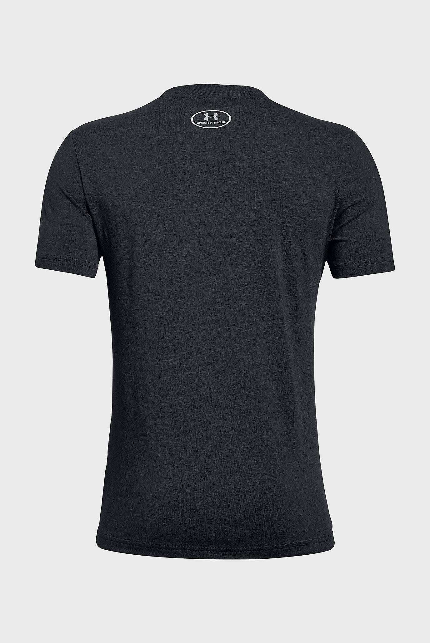 Купить Детская черная футболка SC30 Logo SS Tee Under Armour Under Armour 1317623-001 – Киев, Украина. Цены в интернет магазине MD Fashion