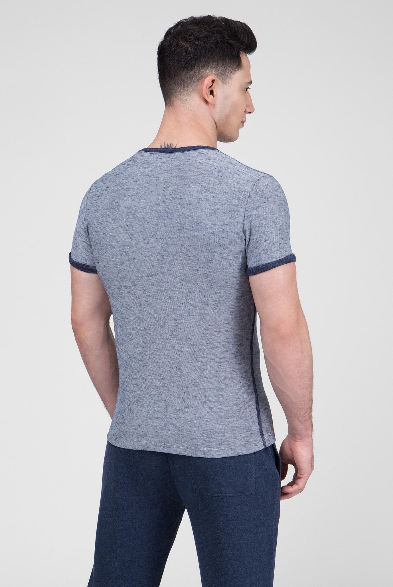 Купить Мужская серая футболка с принтом DELONGE Pepe Jeans Pepe Jeans PM505943 – Киев, Украина. Цены в интернет магазине MD Fashion