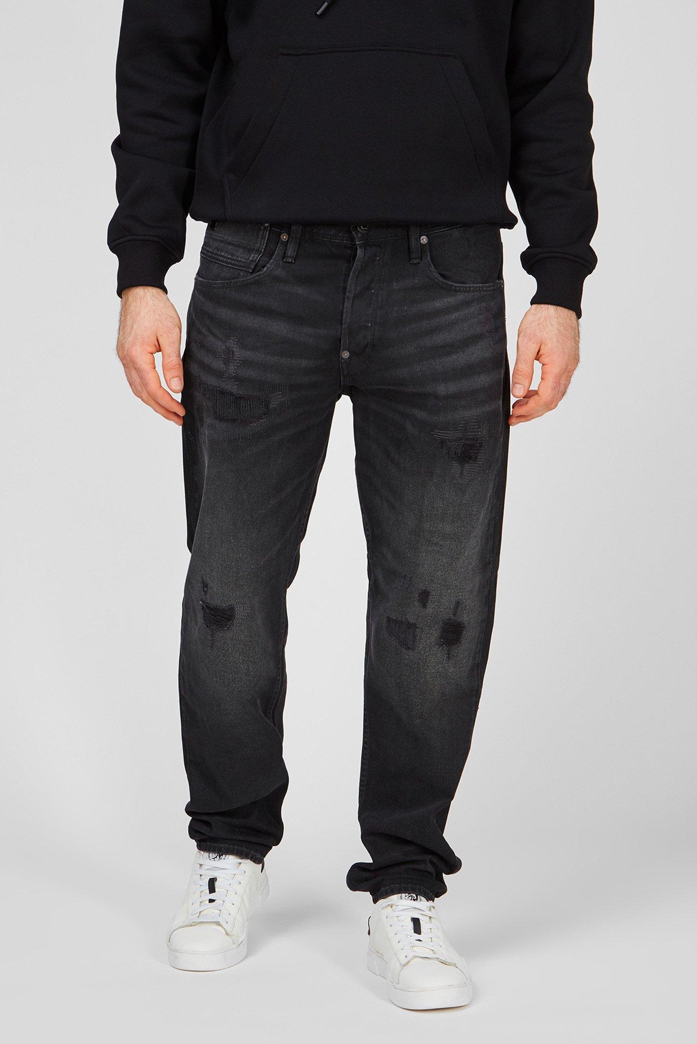 Мужские черные джинсы Alum Relaxed Tapered 1
