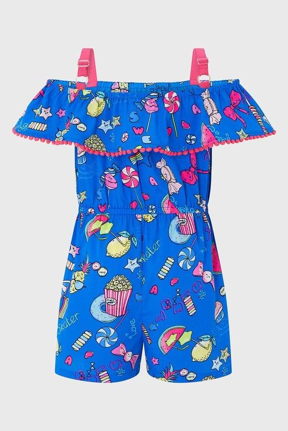 Детский синий комбинезон Marlin