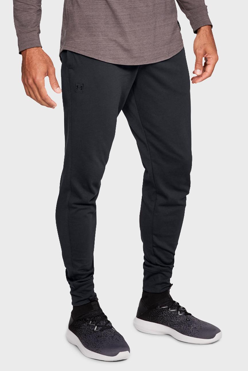 Мужские черные спортивные брюки RIVAL JERSEY JOGGER