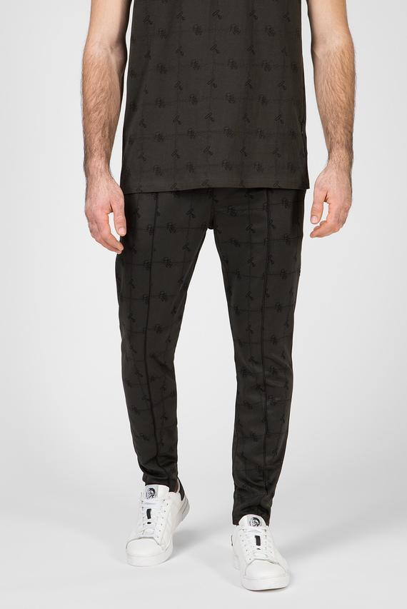 Мужские темно-зеленые спортивные брюки Lanc