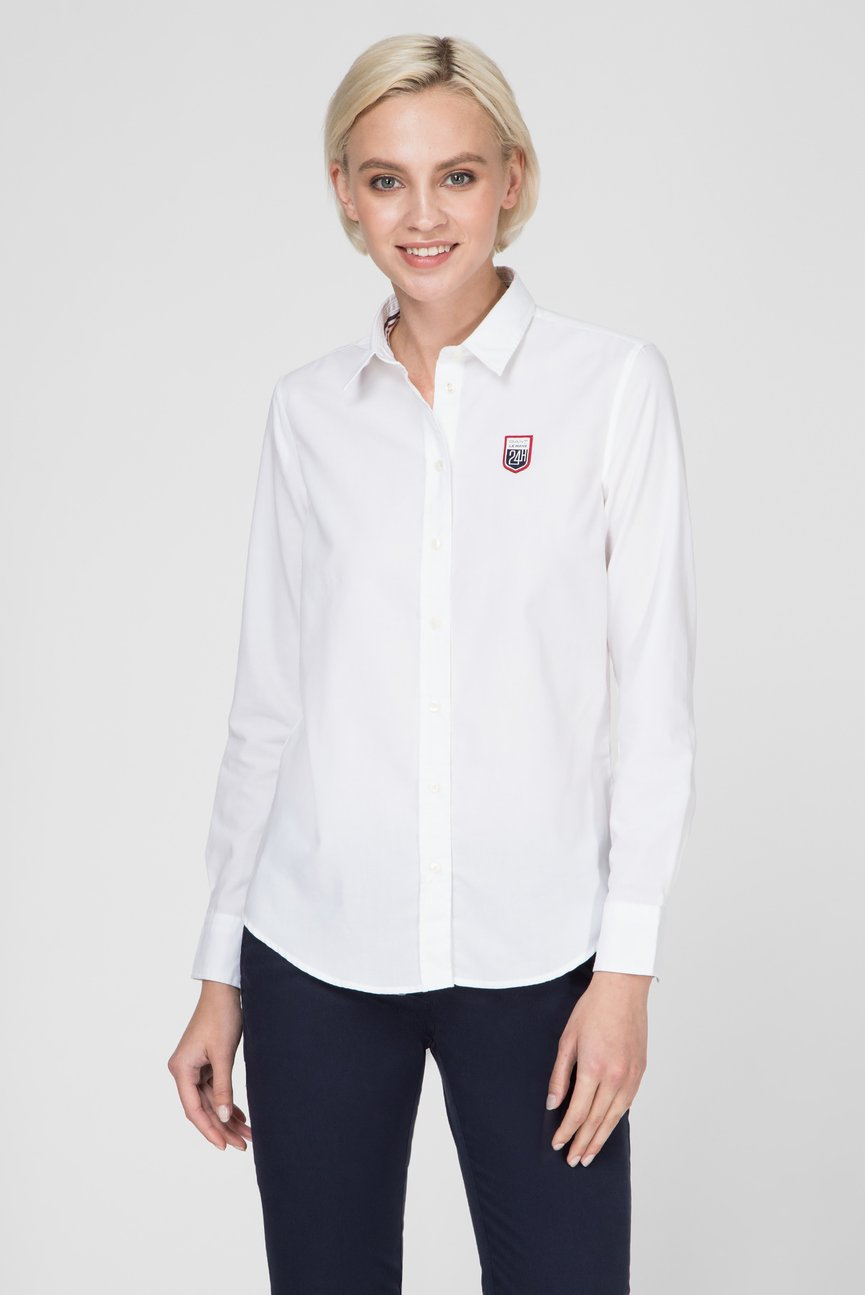 Женская белая рубашка OXFORD