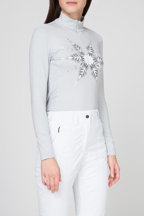 Женская серая спортивная кофта