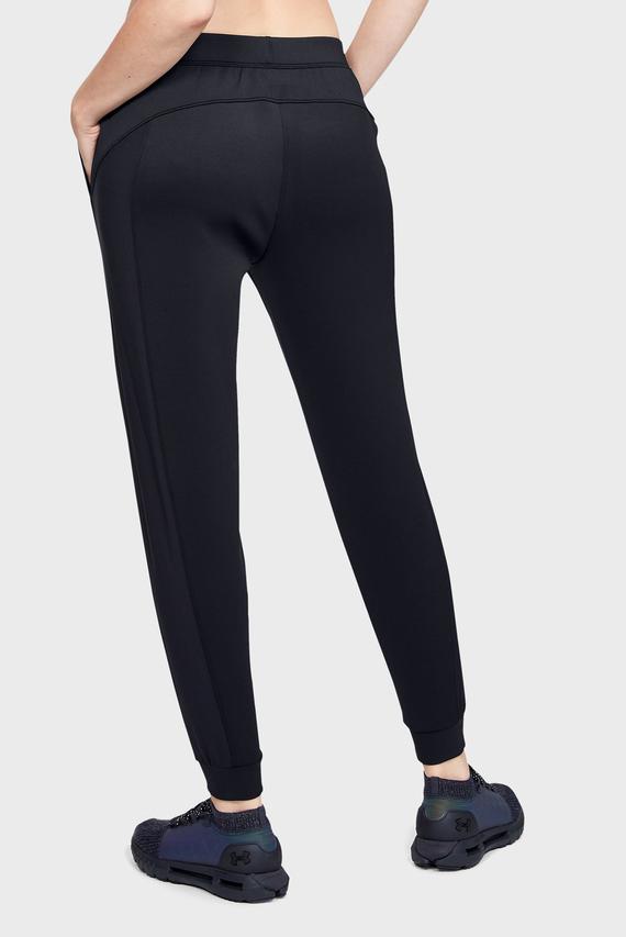 Женские черные спортивные брюки UA CG Armour Hybrid Pant-BLK