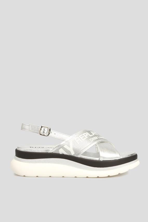 Женские серебристые сандалии AUDRI