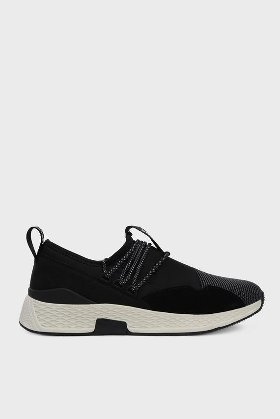 Мужские черные кроссовки CROKER