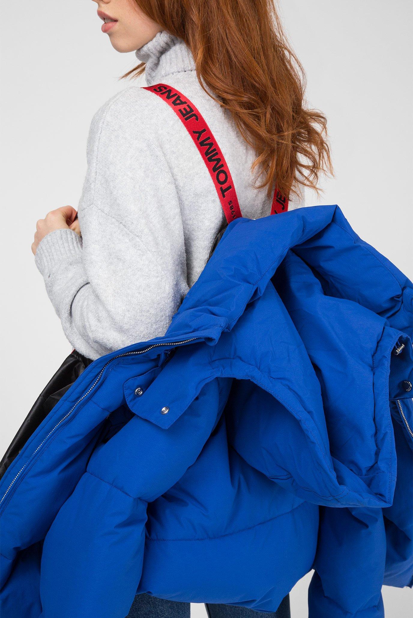 Женская синяя куртка Tommy Jeans