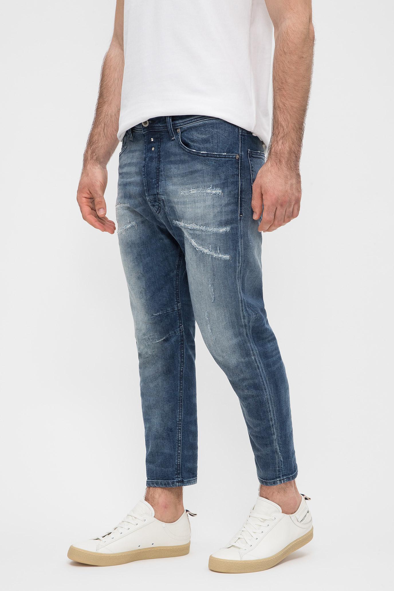 Купить Мужские синие джинсы NARROT Diesel Diesel 00CKTZ 084QW – Киев, Украина. Цены в интернет магазине MD Fashion