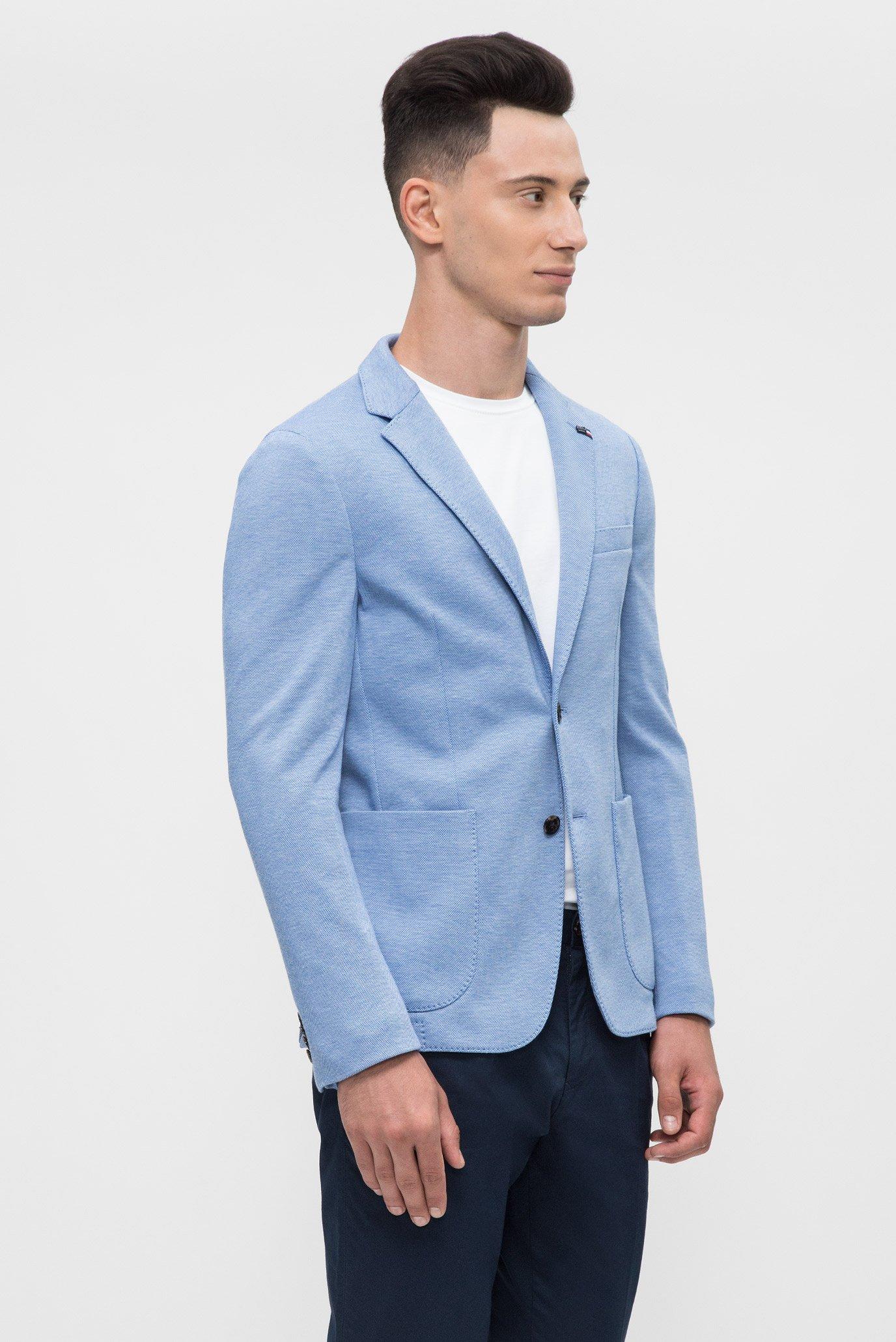 Купить Мужской голубой пиджак  Tommy Hilfiger Tommy Hilfiger MW0MW05265 – Киев, Украина. Цены в интернет магазине MD Fashion