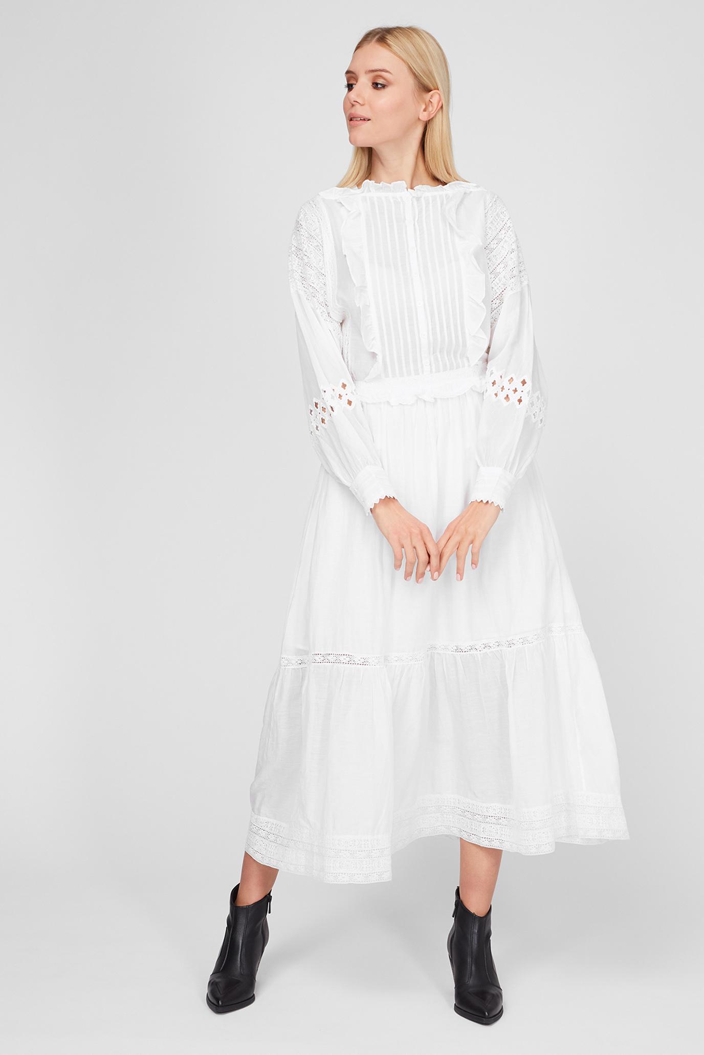 Жіноча біла сукня 1