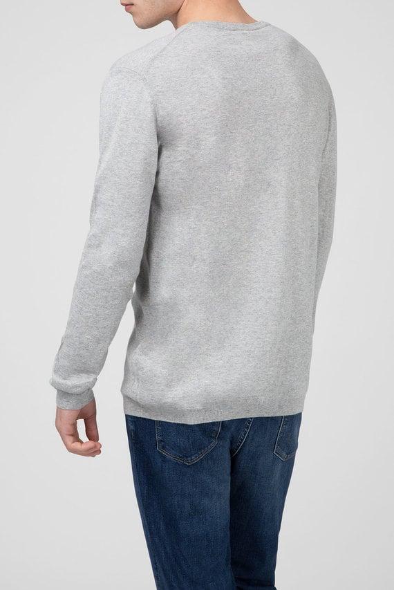 Мужской серый джемпер