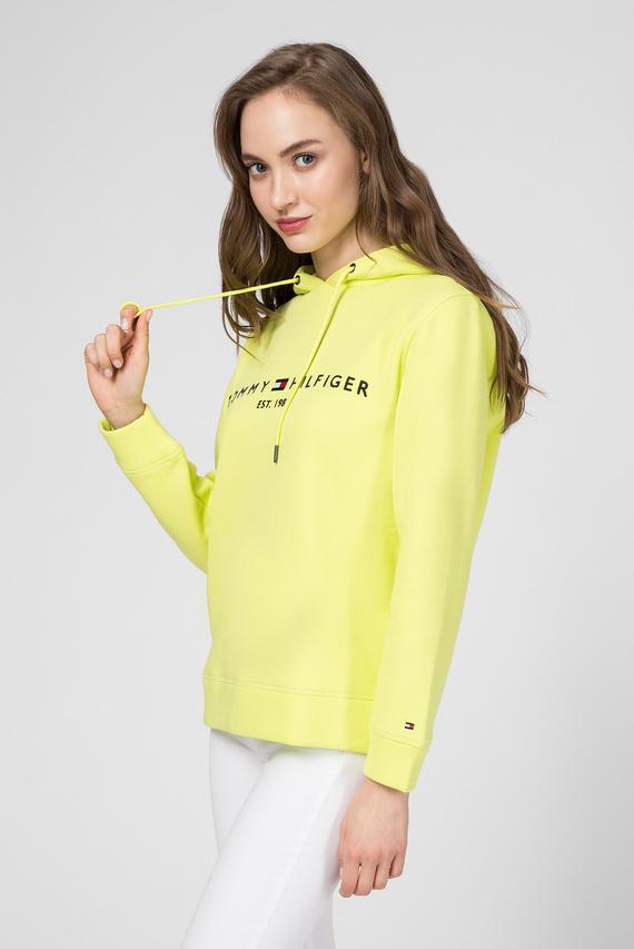 Женское желтое худи TJW ESSENTIAL LOGO