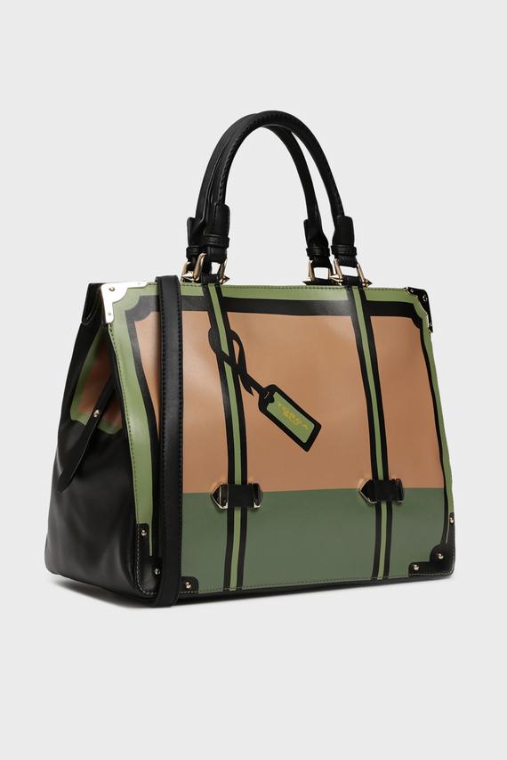 Женская бежевая сумка на плечо ALICE
