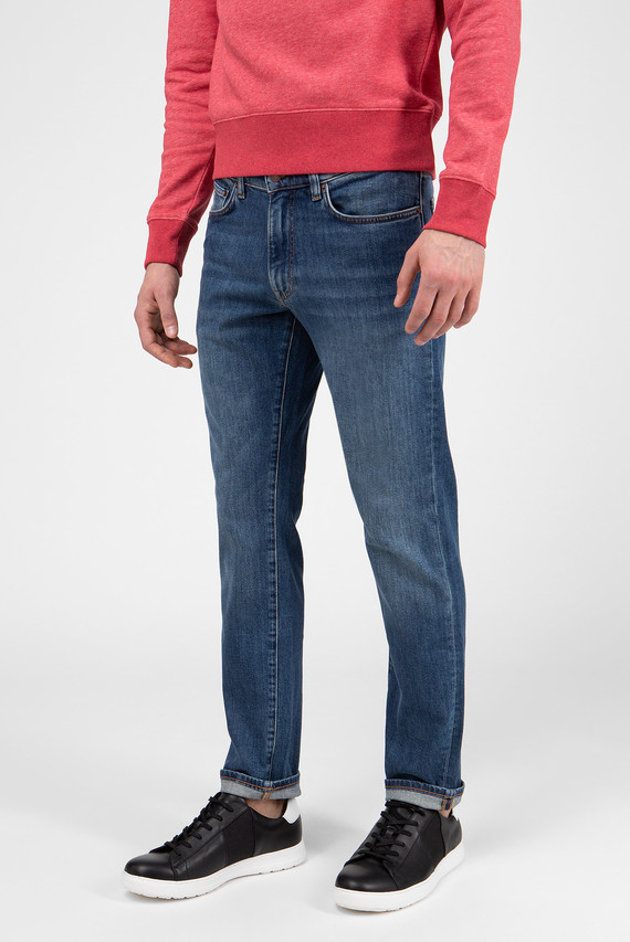 Мужские светло-синие джинсы 971