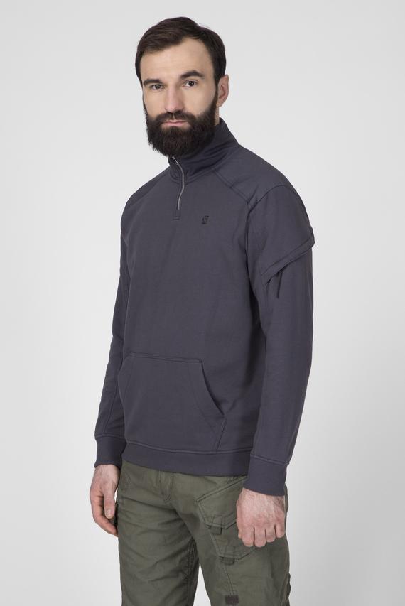Мужская темно-серая спортивная кофта Dast