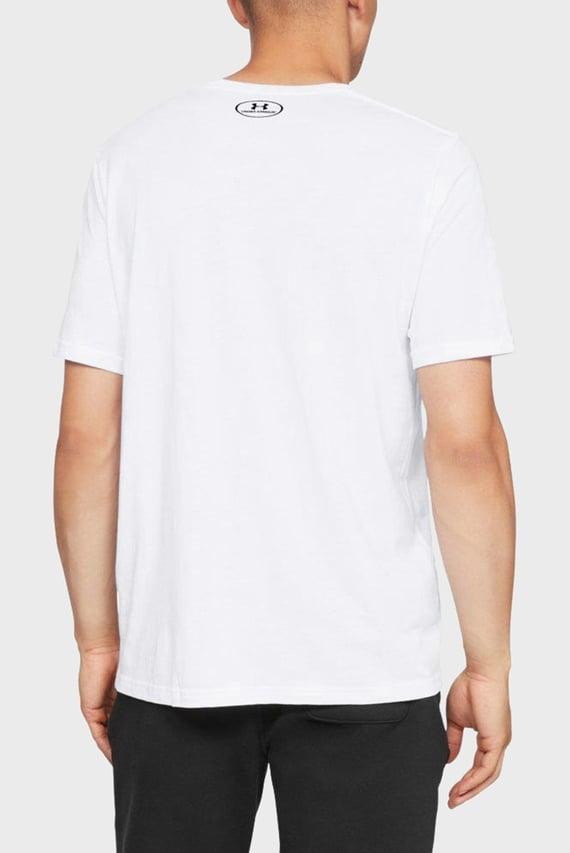 Мужская белая футболка SPORTSTYLE LEFT CHEST SS