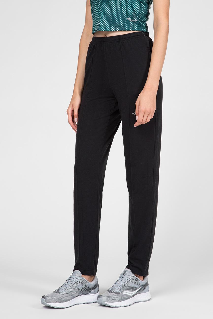 Женские черные спортивные брюки Boston