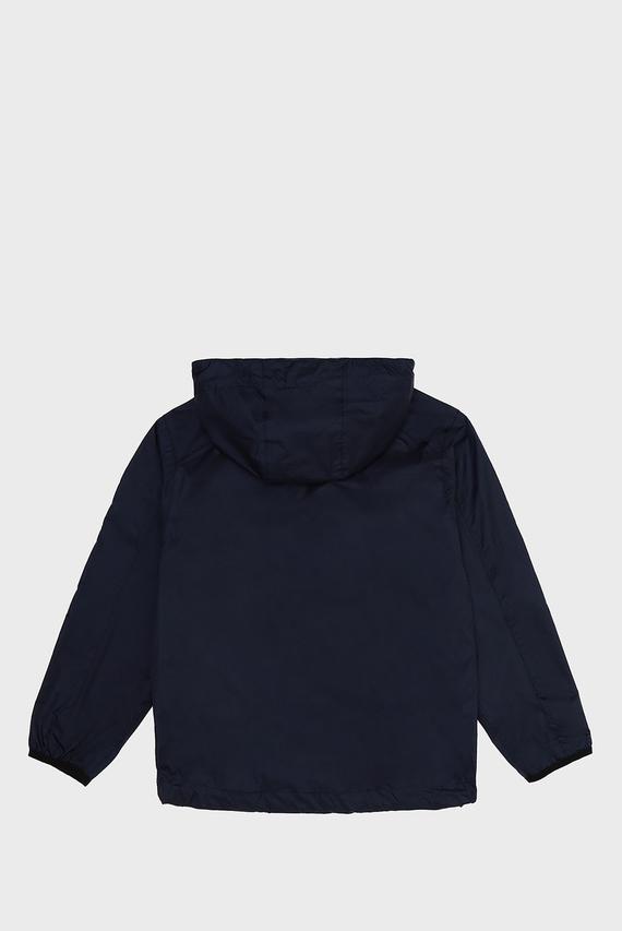 Детская темно-синяя ветровка