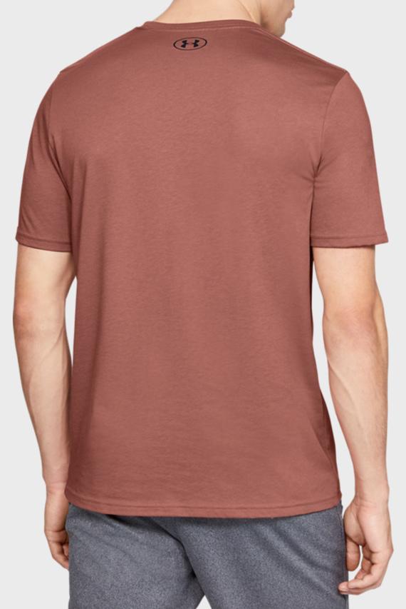 Мужская коричневая футболка SPORTSTYLE LOGO SS-BRN