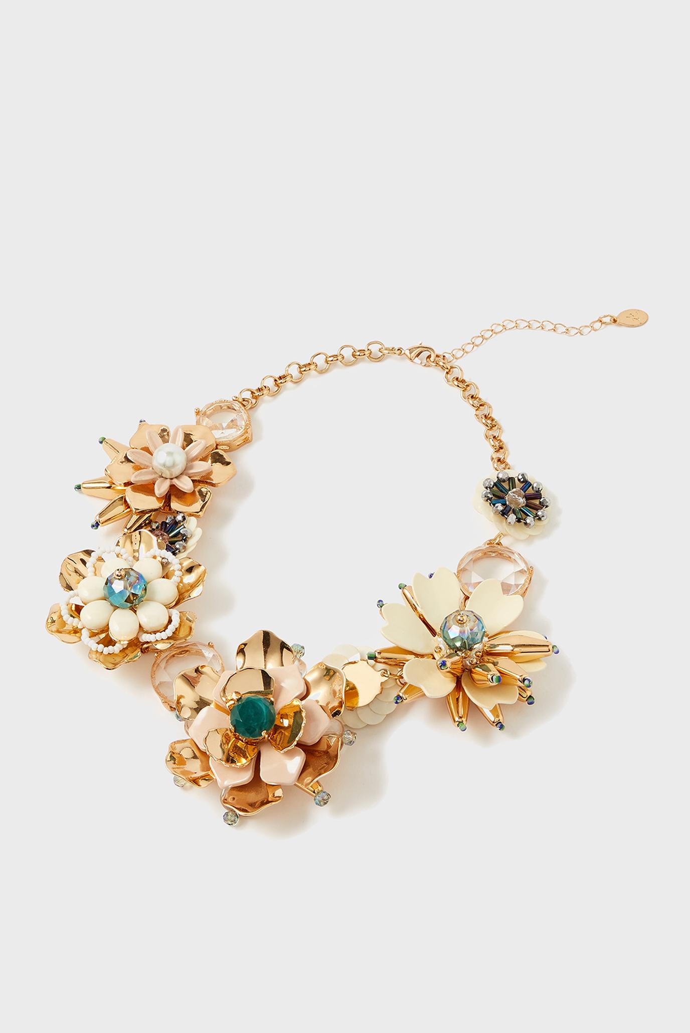 Женское золотистое ожерелье MEADOW MUSE STATEMEN 1
