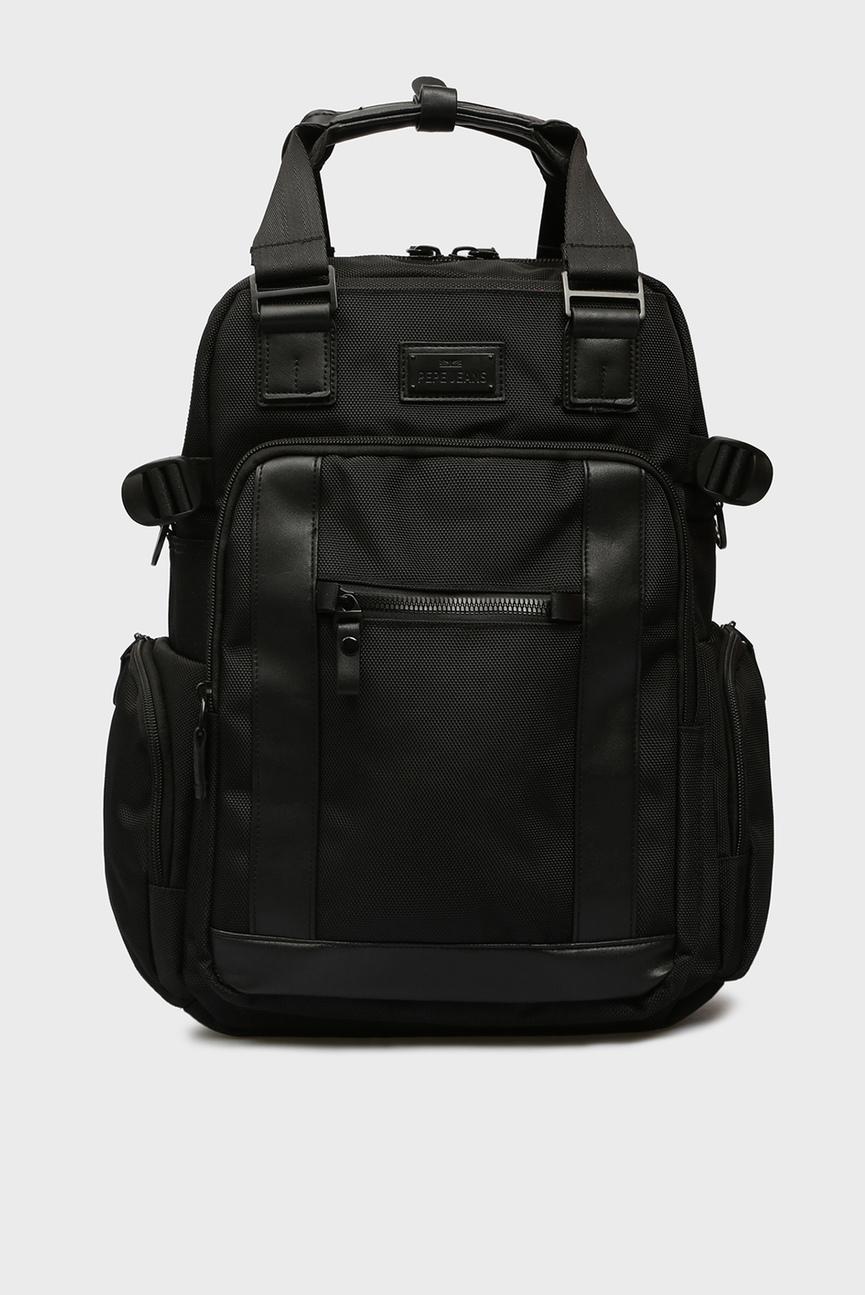 Мужской черный рюкзак ALLBLACK ADAPTABLE
