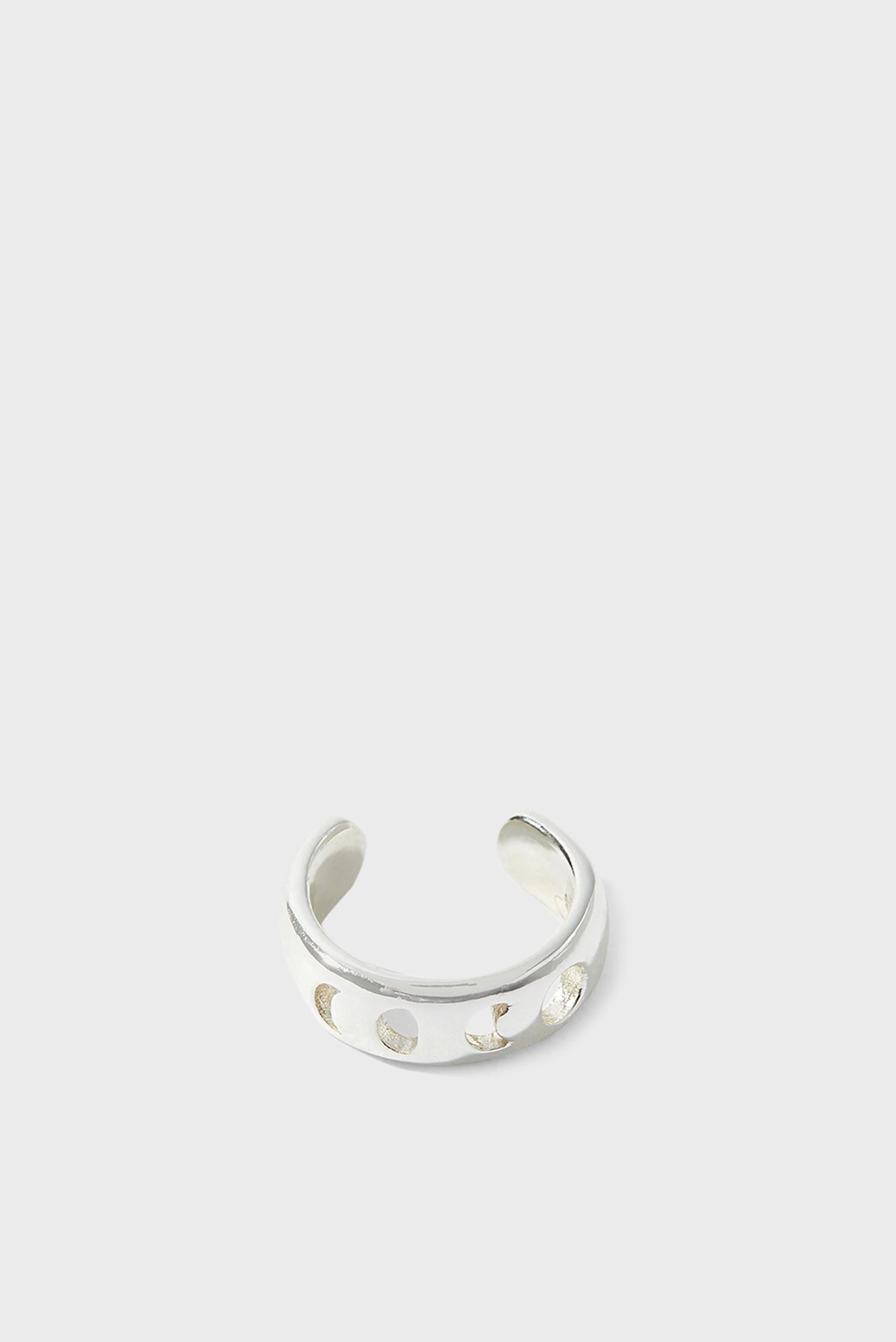 Жіночий срібний кафф ST MOON PHASE BAND E 1