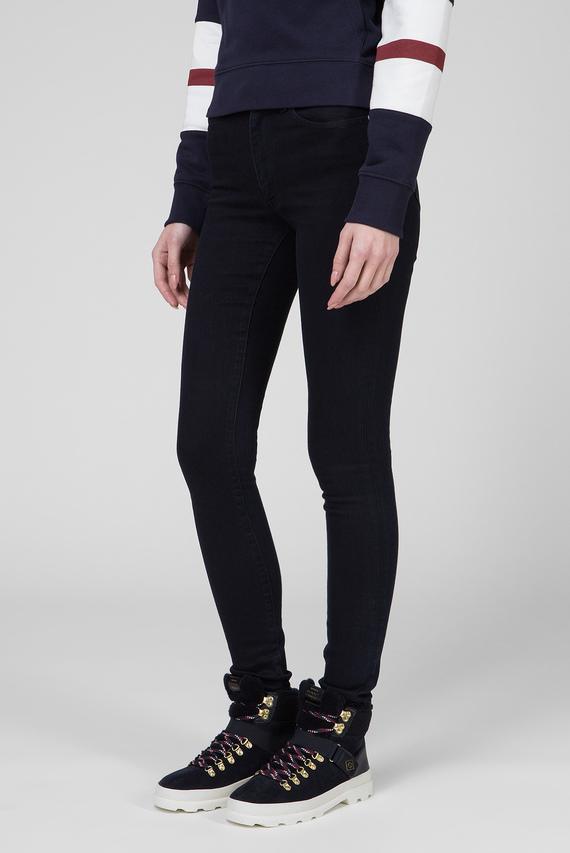 Женские темно-синие джинсы SKINNY SUPER STRETCH