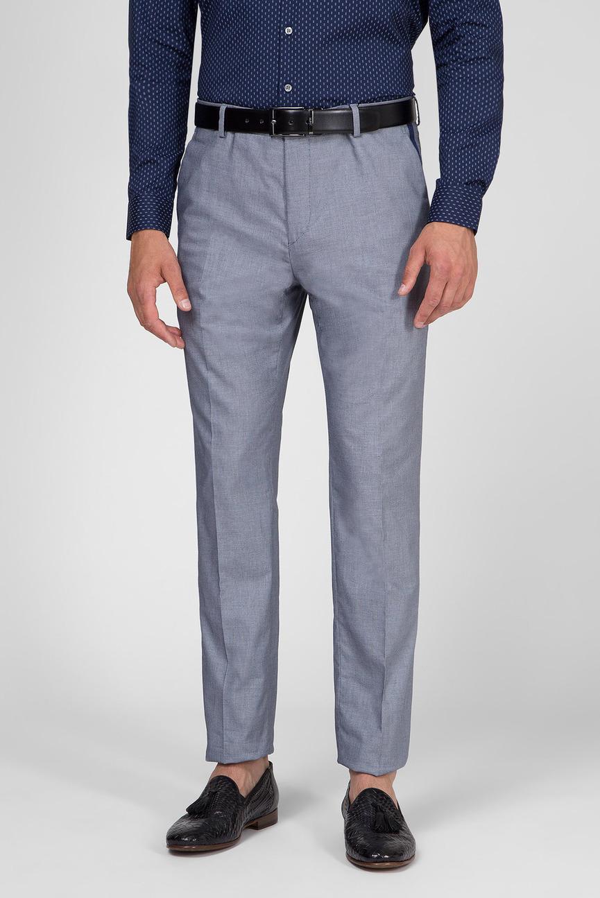 Мужские синие брюки COTTON BIRDSEYE STRETCH PANT