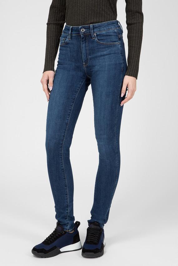 Женские синие джинсы 3301 High Skinny