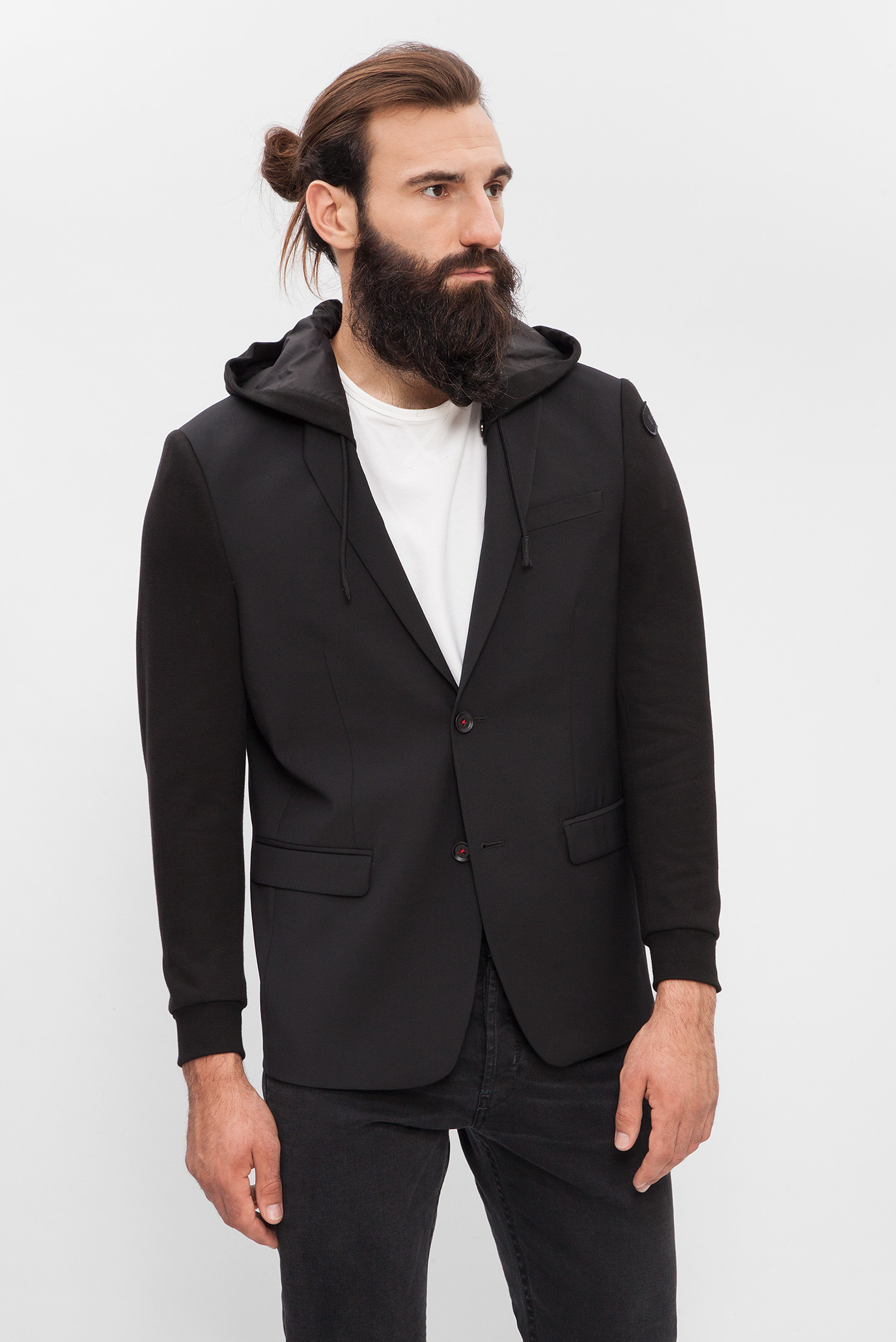 Купить Мужской черный пиджак Diesel Diesel 00S7S0 0WAPF – Киев, Украина. Цены в интернет магазине MD Fashion
