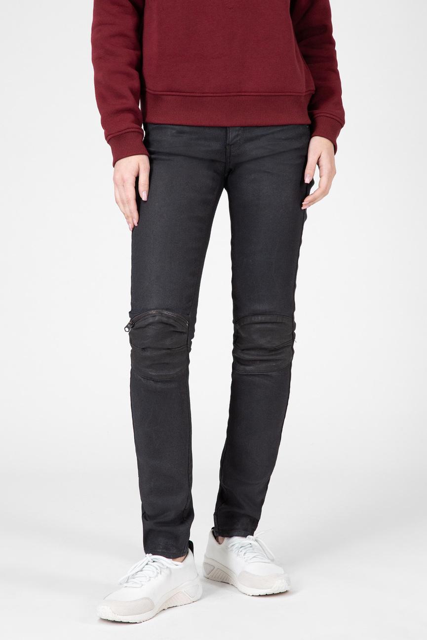 Женские черные джинсы 5622