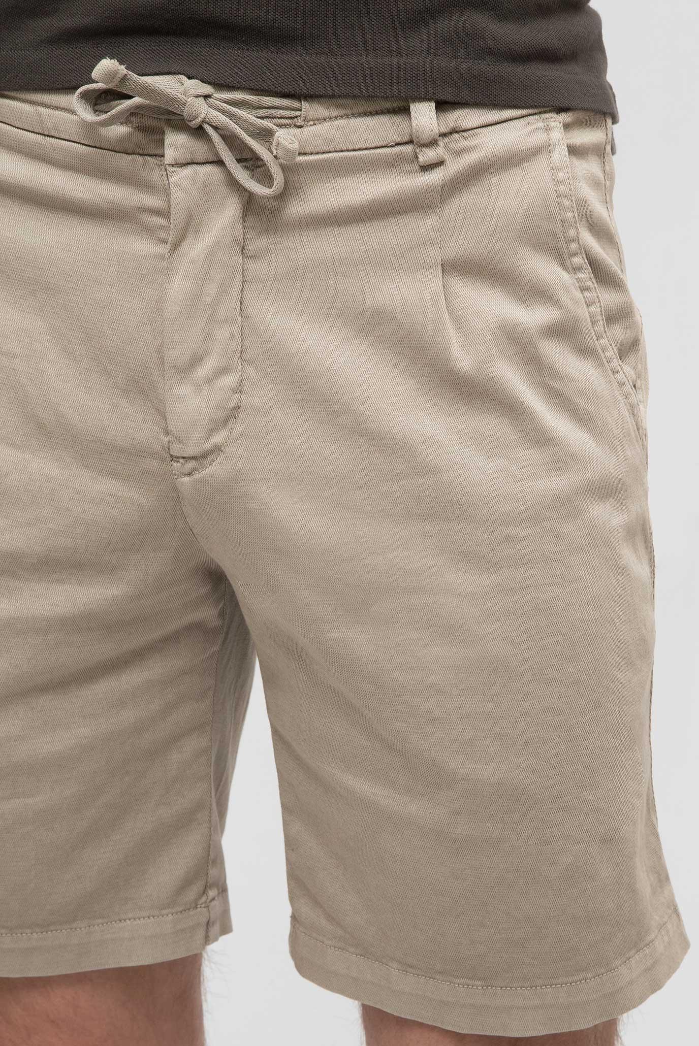 Мужские бежевые шорты Replay
