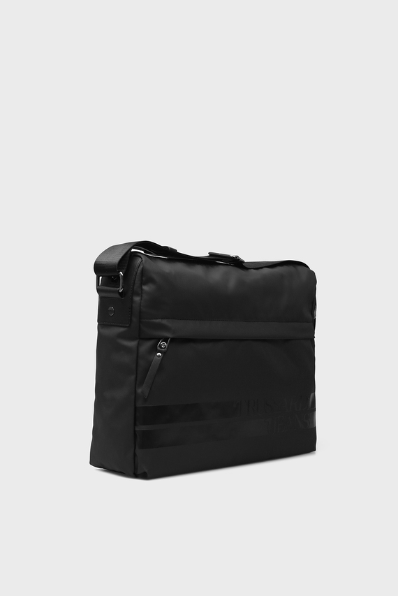 Мужская черная сумка для ноутбука TURATI