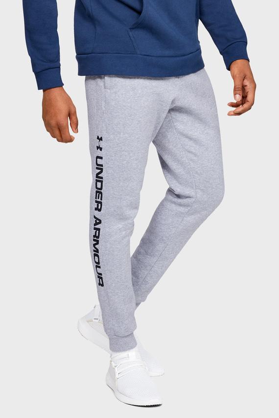 Мужские серые спортивные брюки RIVAL FLEECE WORDMARK LOGO JOGGER