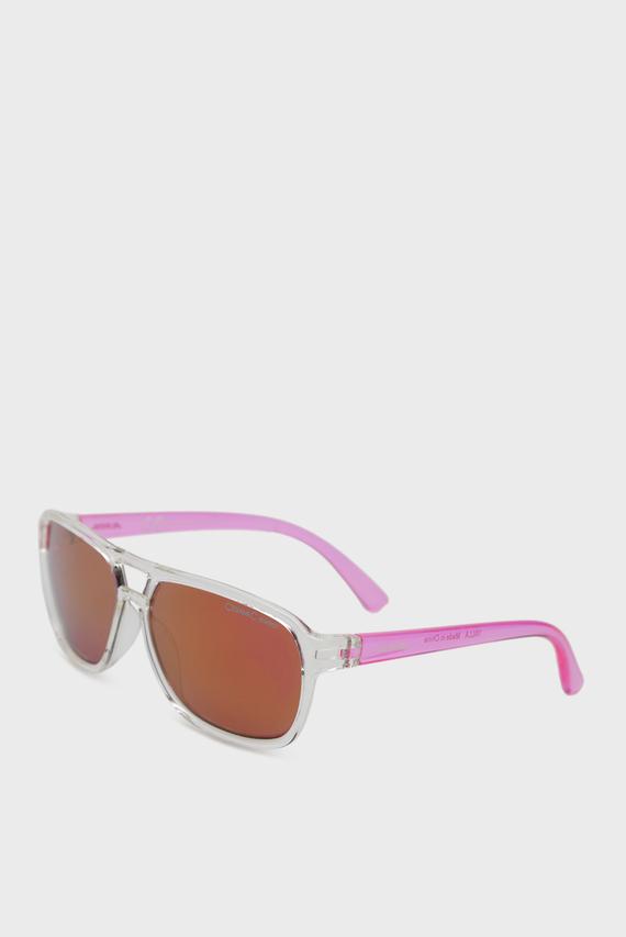 Детские розовые солнцезащитные очки YALLA