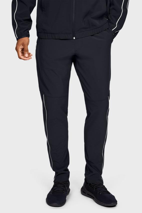 Мужские черные спортивные брюки Athlete Recovery Woven Warm Up