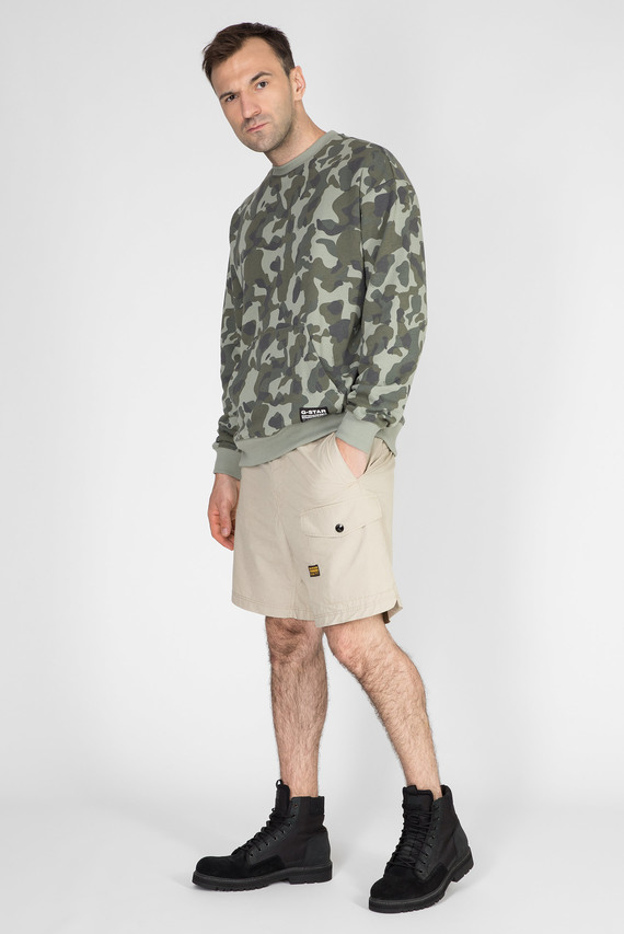 Мужские бежевые шорты Front pocket sport