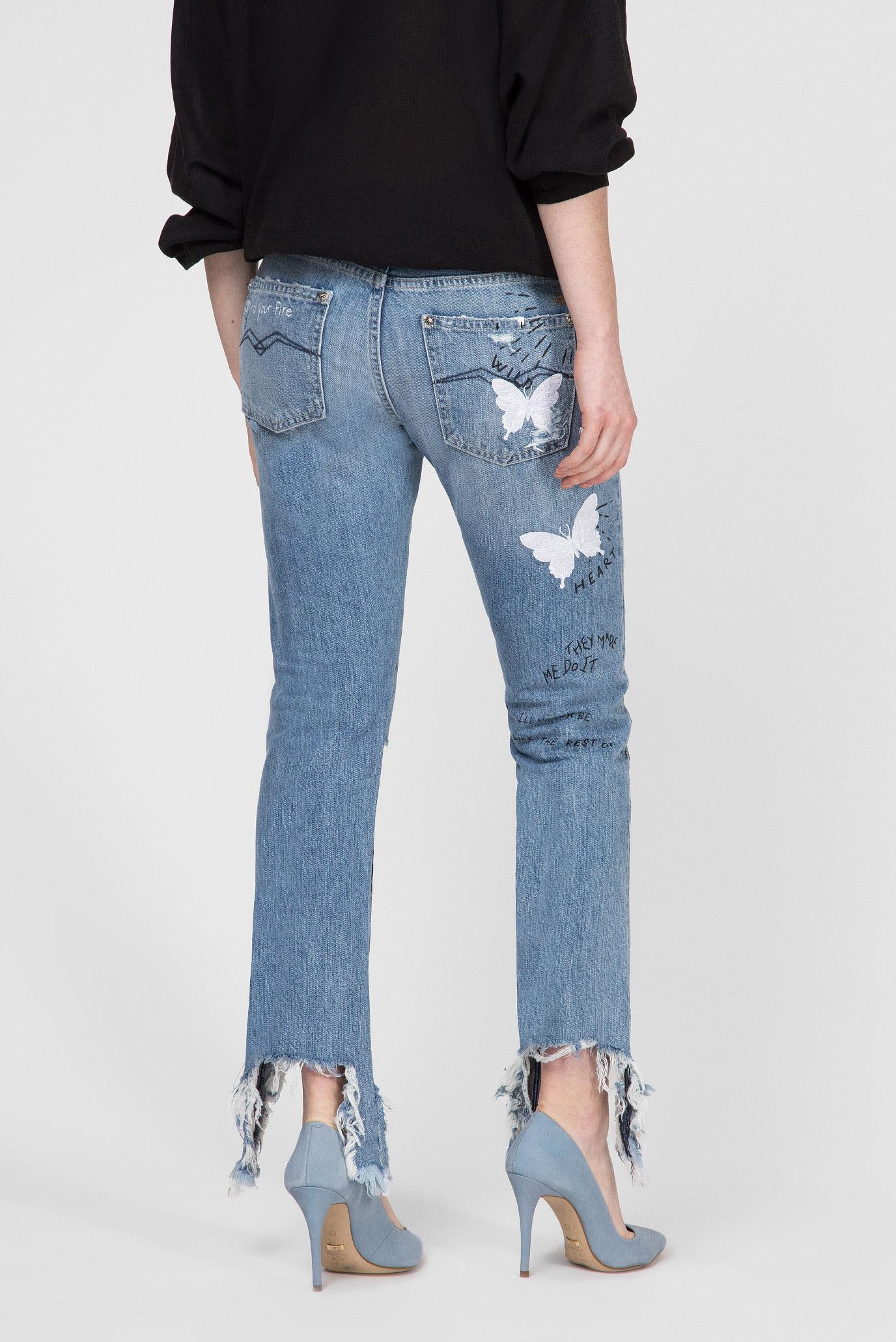 Купить Женские голубые джинсы JOPLYN Replay Replay WA405U.000.50C M38 – Киев, Украина. Цены в интернет магазине MD Fashion