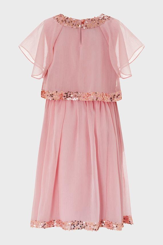 Детское розовое платье MEGHAN DRESS