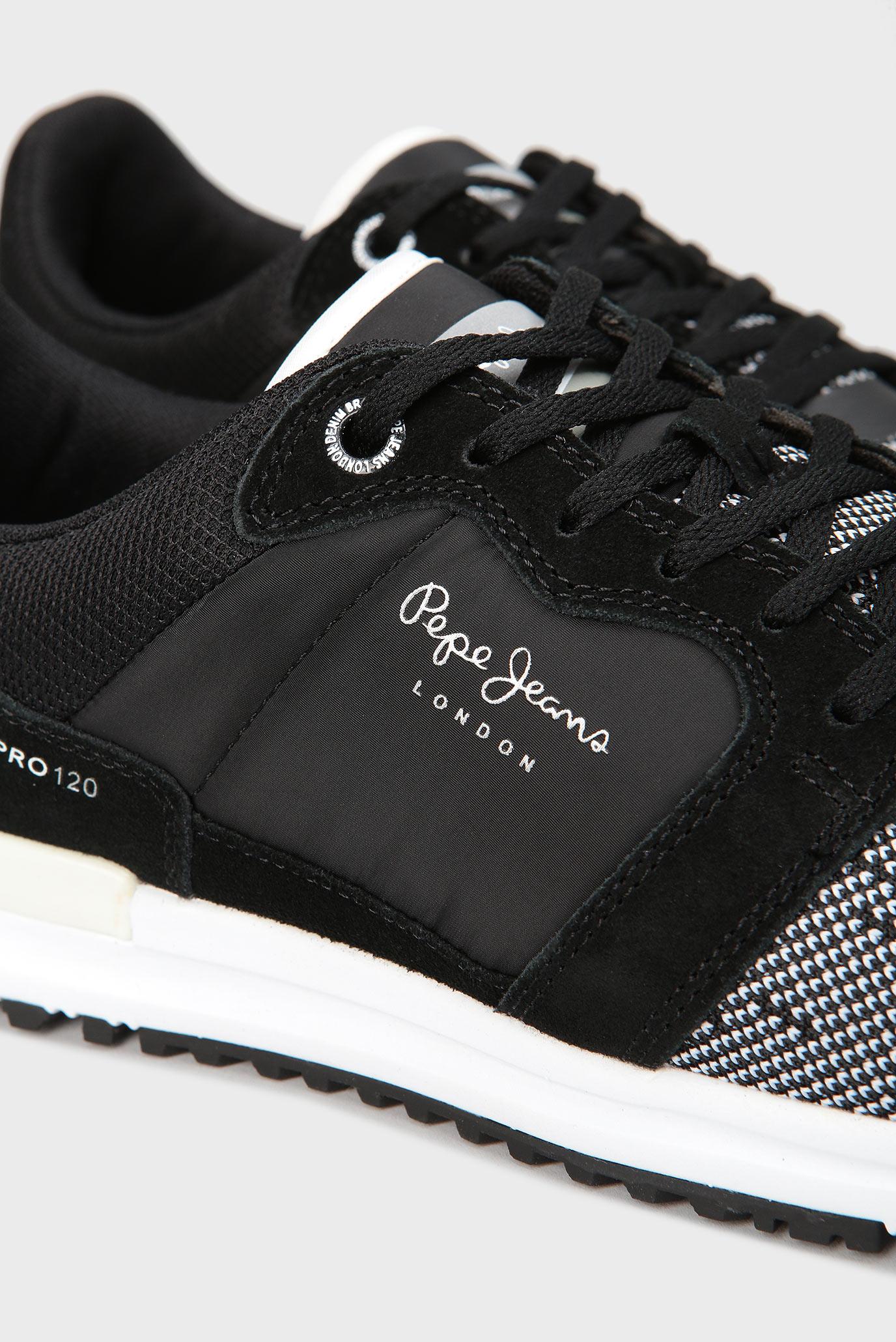 Купить Мужские черные кроссовки Pepe Jeans Pepe Jeans PMS30417 – Киев, Украина. Цены в интернет магазине MD Fashion