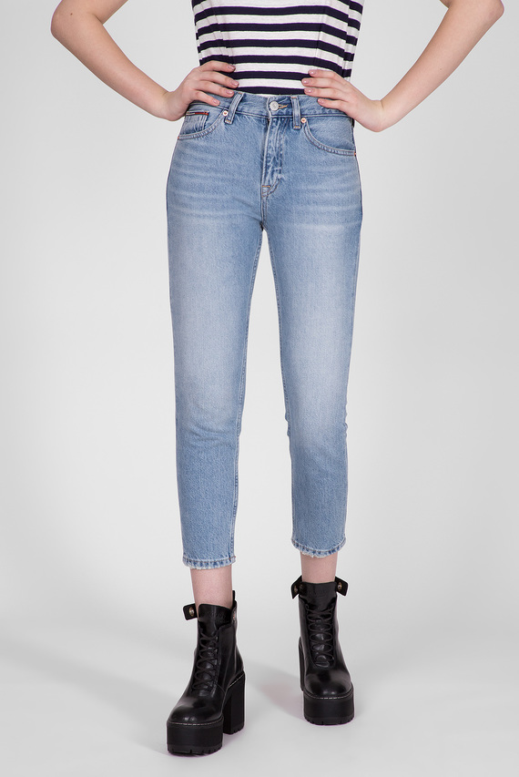 Женские голубые джинсы IZZY HIGH RISE SLIM ANKLE